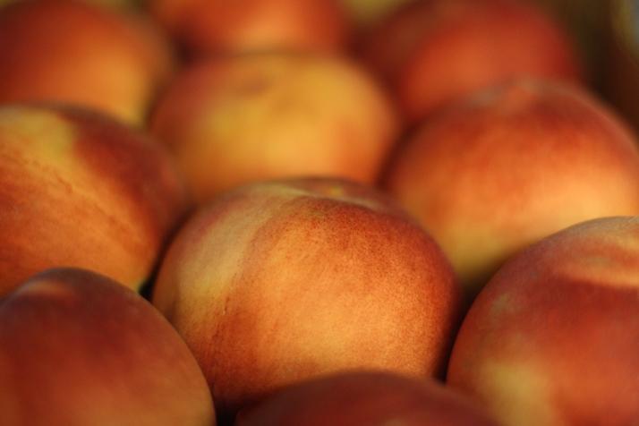 White Peaches