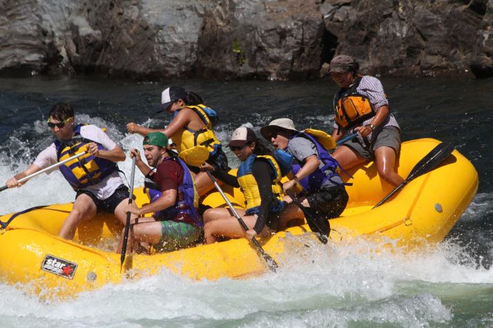 American River White Water Rafting (South Fork)